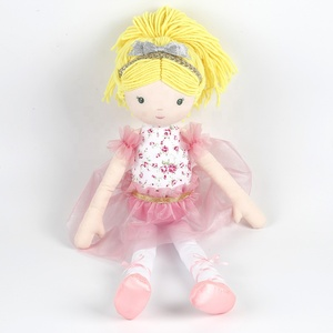 New Products Cute Custom Handmade Plush Fairy Doll