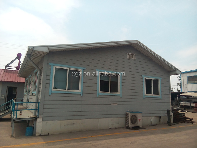 Light Green Modular Homes Portable Prefabricated House