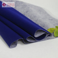 Adhesive backed fabric velvet/ non-woven fabric For Jewelry Box Interlining
