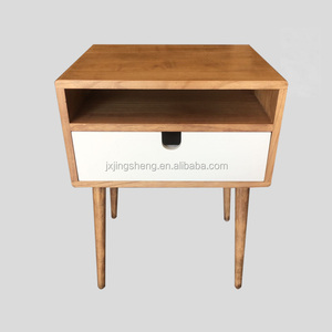 Danish Wood Furniture Side Tea Coffee Table Telephone Table with Drawer