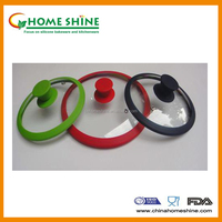 silicone glass cover with silicone parts