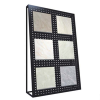 metal ceramic tile display racks stands/trade show tile exhibition stand