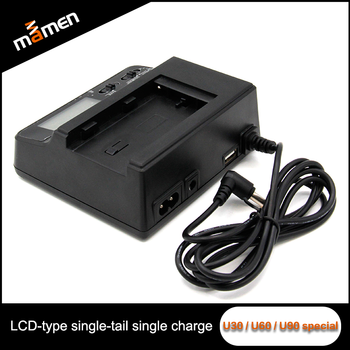 Universal Battery Charger Micro Usb With Lcd Screen Multi Plug Dc Ac Car For