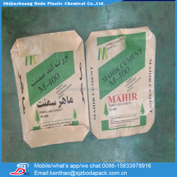 25kg Portland/white Cement Ad Star Pp Cement Bag