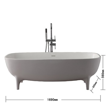 Delicieux K47 Free Standing Clawfoot Tub Small Size Bathtub