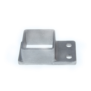 High precision stamping square fence posts cast aluminium bracket