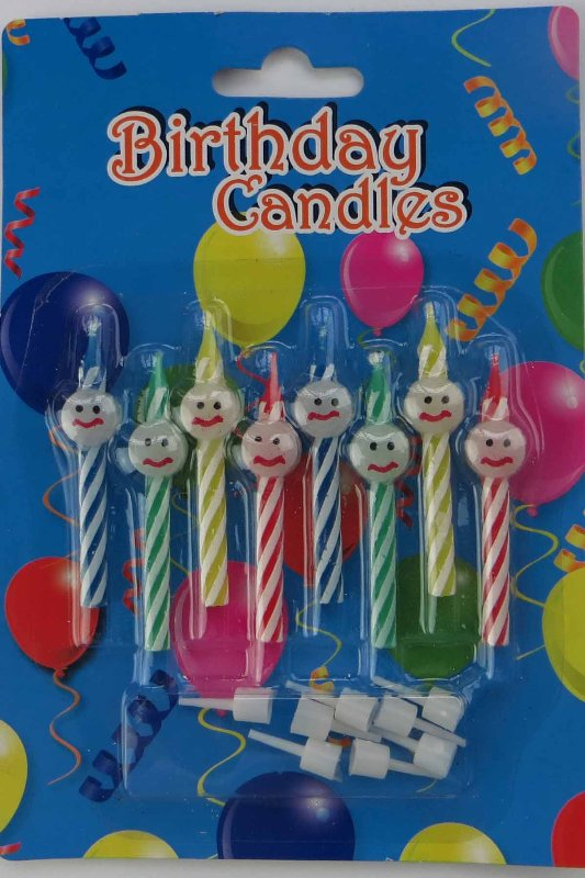 Wholesale Number Birthday Cake Candles Paraffin Wax