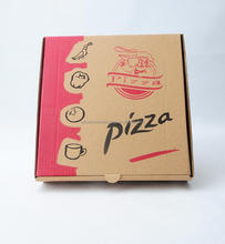 Wholesale Custom Printed Corrugated Cardboard Recycle Paper Pizza Box Manufacturer