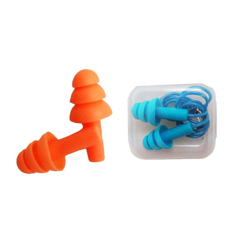 Ucuz su geçirmez yüksek kaliteli silikon yüzme kulak tıkacı