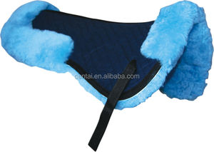 Horse racing saddle pad