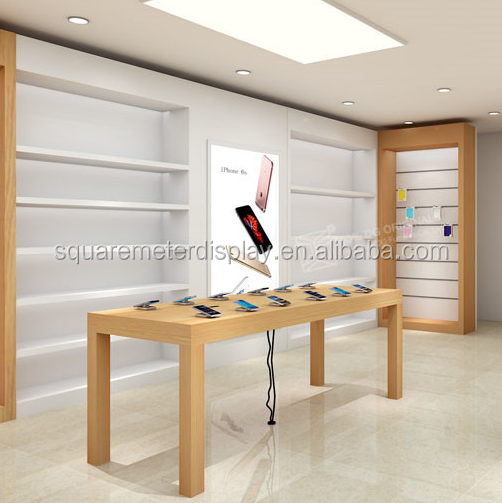High Quality Apple Store Wood Display Table With 4 Legs For Sale   Buy Apple  Display Table,Apple Table With 4 Legs,Apple Store Table Product On  Alibaba.com