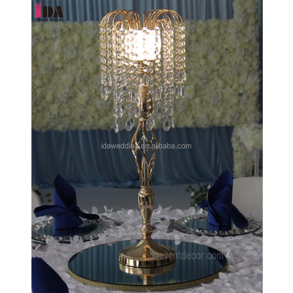 Wedding Decoration Centerpieces With Led Light Buy Silver