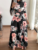 2019 AliExpress Best Selling High Quality Floral Casual Dress Women Long Party Dresses