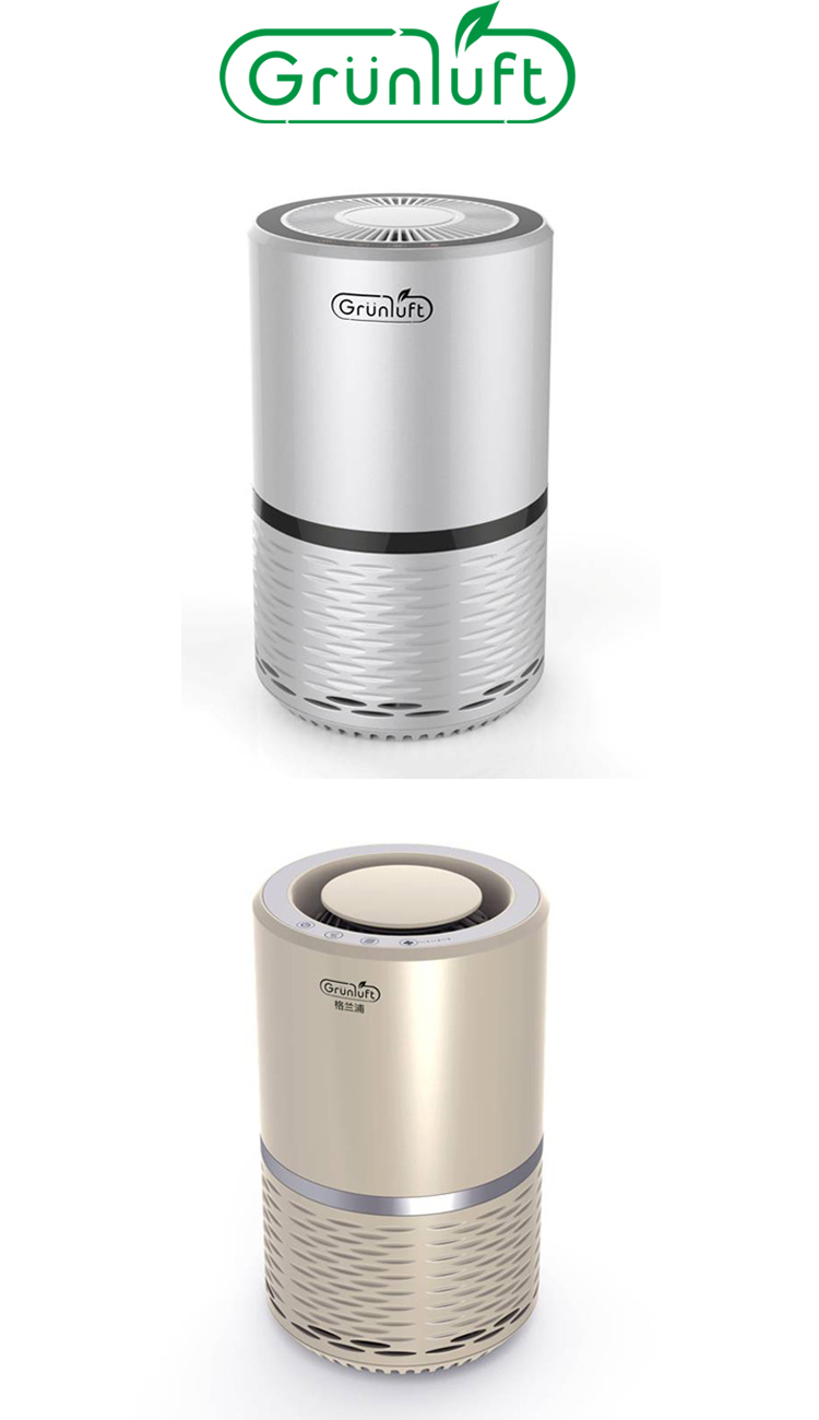 Best Mini Desktop Air Purifier With Hepa Filter And Air Ionizer ...