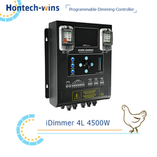 Broiler farm poultry equipment, LED dimmer box