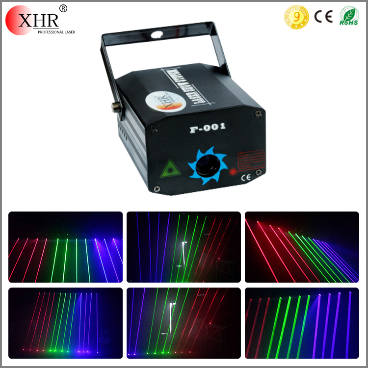 Wholesale Products Mini R/G/B Laser Curtain Single Beam Laser Light For Night Club Decor