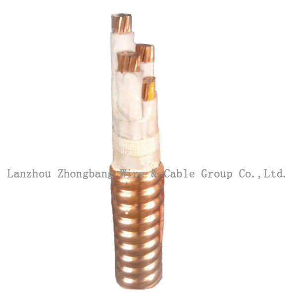 Fire Resistant cables BS 6387 IEC331 0.6/1kv copper conductor maineral insulated copper tape armoured fireproof cable