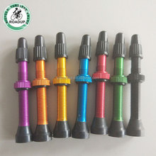 anodized colored presta valve stem bicycle valve made in China