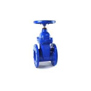 soft sealing cast iron wedge 250mm gate valve made in China