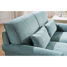 Fashion erotic sofa chair blue velvet lounge design sofa for sale