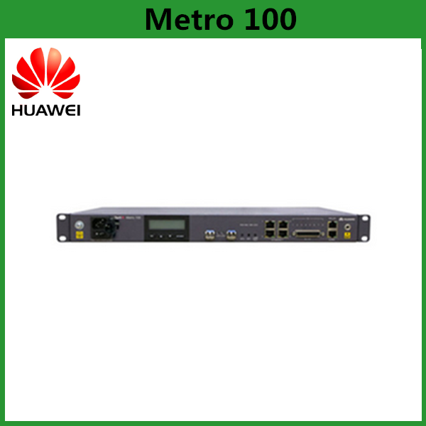 Huawei OptiX Metro 100 MSTP Equipment Supports E1/FE/STM-1 Service
