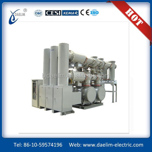 252kV Gas Insulated Switchgear(GIS)