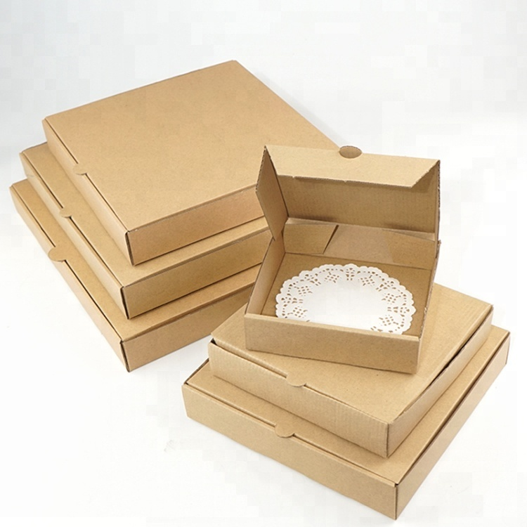 Individuell Bedruckte Wellpappe Pizza Box
