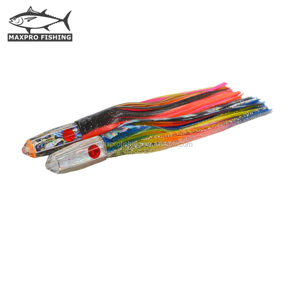 12 16 20 24oz Weighted Bullet Jet Head high speed trolling lures WAHOO Sailfish