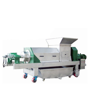 Machinery Double Screw Extruder for wine press