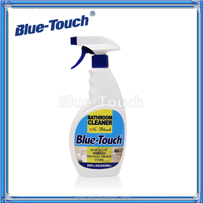 Blue-Touch tile protecter toilet bathroom cleaners supply with spray 20OZ