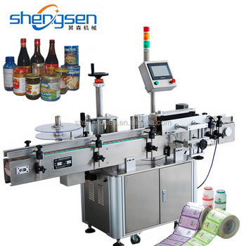 High Grade Wine Glass Beer Bottle Labeling Machines