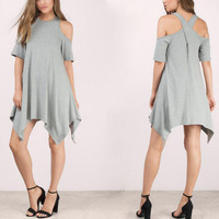 High Quality Women Casual Day Dresses Clothes