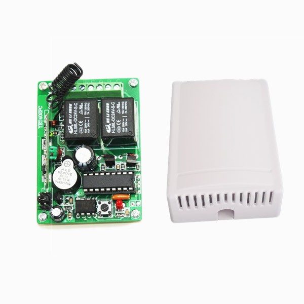 For Garage Gate Automa Dc12v  24v Wireless Receiving Controller Board 315mhz 433mhz Rf Receiver