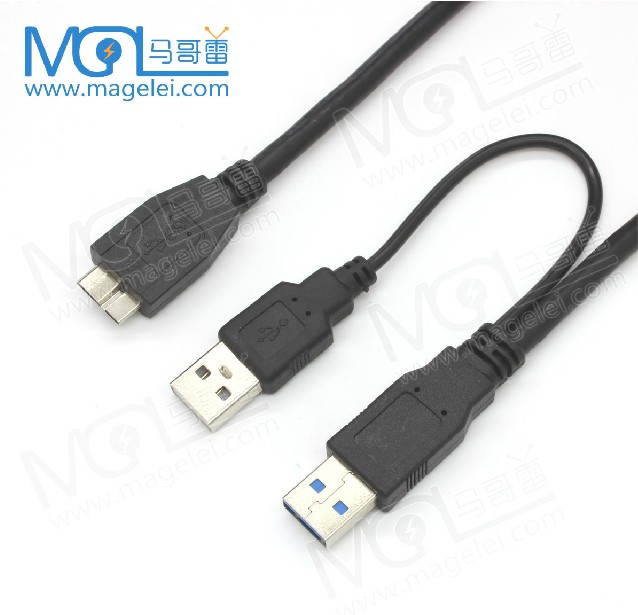 Usb3.0 2am To Micro Cable With Charging Cable