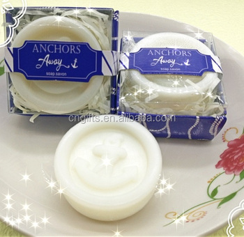 Ywbeyond new arrival u0026quot;anchor awayu0026quot; round anchor scented soap favors wedding thank & Ywbeyond New Arrival