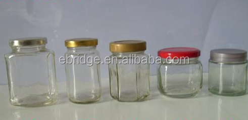 Food Packaging Glass Jars / Glass Vacuum Food Storage Container / Glass Bottle