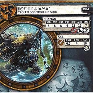 Hordes: Trollbloods - Northkin Shaman Trollkin Solo