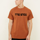 OEM top quality rust cotton oversized fitting creat custom t-shirt