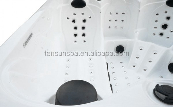 Luxury USA Balboa Control164 pcs Jets China Hot Tub Spa
