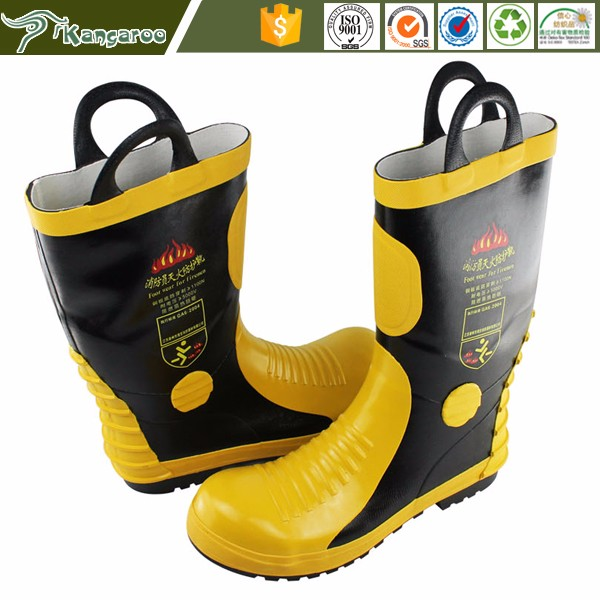 KMB02 Carmy New Model Security Firefighter Safety Steel Toe Men Boots Shoes