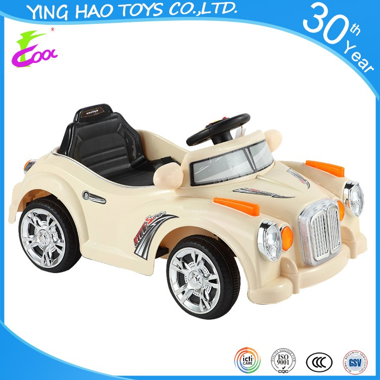 Children battery operated ride on classic car