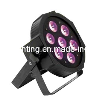 New Hot Selling 7X3W LED MINI PAR Can Slim Par Light Flat Par 64 RGB 3IN1 Tri LED