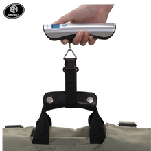 Hot Sale Multi functional travel digital weighing luggage scale with tape measure
