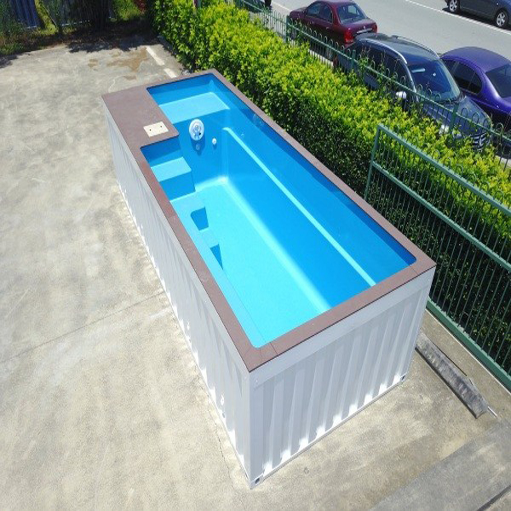 Cheap Outdoor Steel Structure Shipping Container Swimming Pool - Buy  Swimming Pool,Container Swimming Pool,Shipping Container Swimming Pool  Product on ...