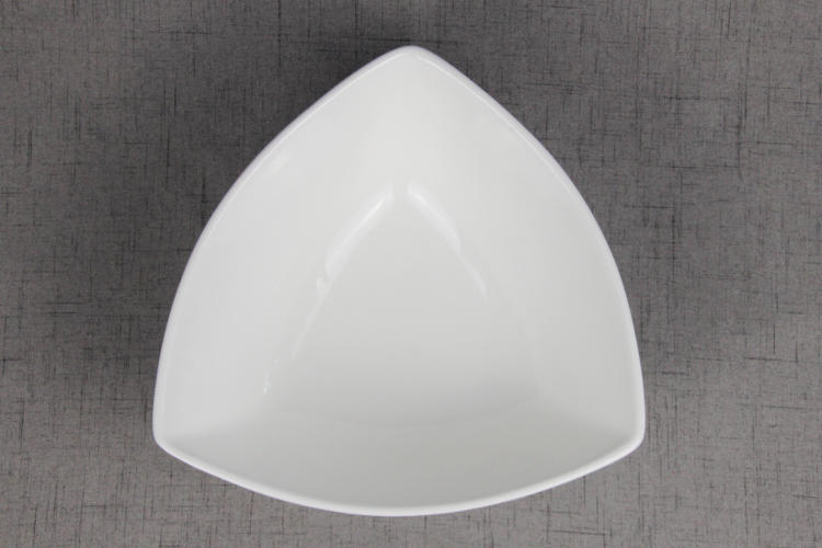 Porcelain used restaurant dinnerware 10  triangle deep salad bowl top choice dinnerware : used restaurant dinnerware - pezcame.com