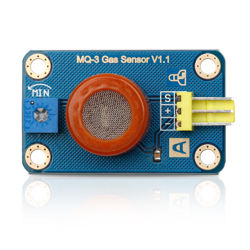 MQ-3 Gas sensor for ethanol detection Compatible with Arduino