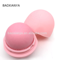 China Manufacturers Promotional OEM Herbal Organic Moisturizing Round Ball Custom Waterproof Natural Private Label Lip Balm