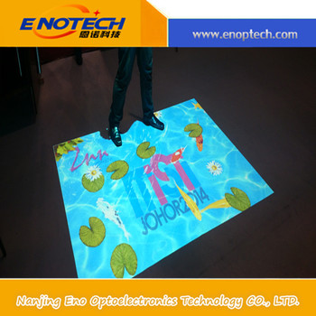 new technology interactive floor kids game with projector for kids