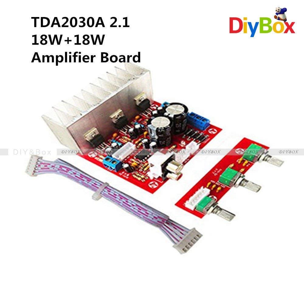 Cheap Power Amplifier Ic Tda Find Deals On How To Build Your Own 10watt Using An 2003 Get Quotations Fidgetfidget Board Tda2030a Super Bass 21 3 Sound Track Pc Speaker Circuit