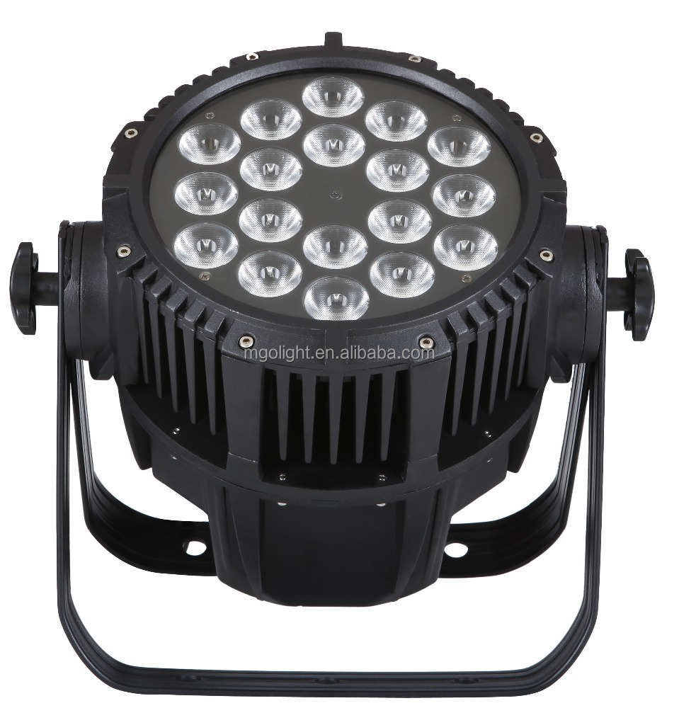 Pro 4IN1/6IN1 rgbwa 18x10w waterproof led par light